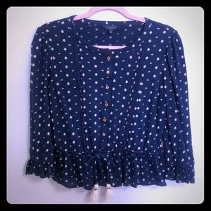 Lucky Brand cotton blouse size S